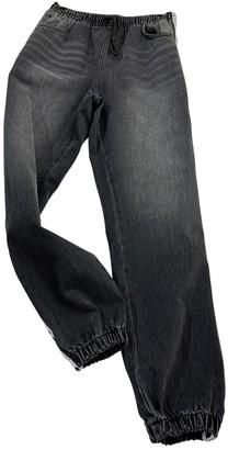 Alexander Wang Grey Cotton Jeans for Women