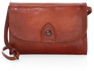 Frye Melissa Crossbody Leather Wallet