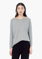 Mango Outlet Polka-Dot Cotton-Blend Sweater
