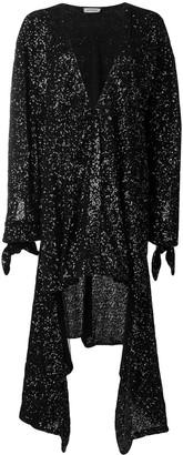 ATTICO The sequined asymmetric dress