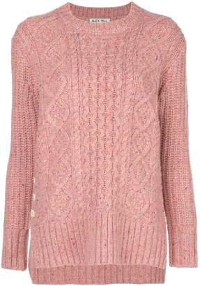 Alex Mill Donegal cable-knit jumper