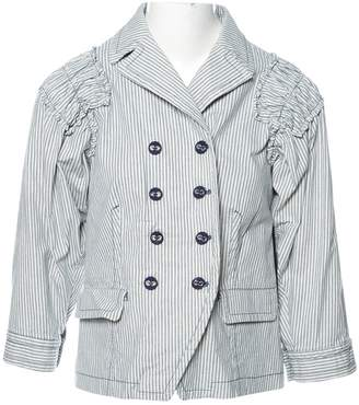 Marc by Marc Jacobs White Cotton Jackets