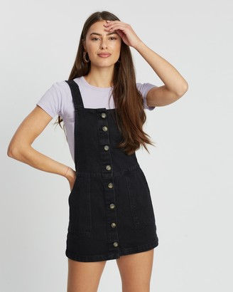 Miss Selfridge Button-Through Pinafore