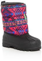 Ralph Lauren Girls' Hamilten II EZ Cold Weather Boots - Toddler