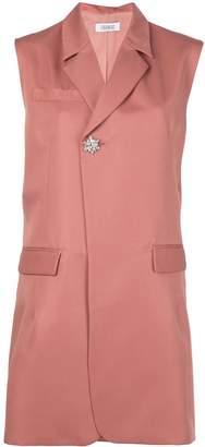 Nomia sleeveless oversized blazer