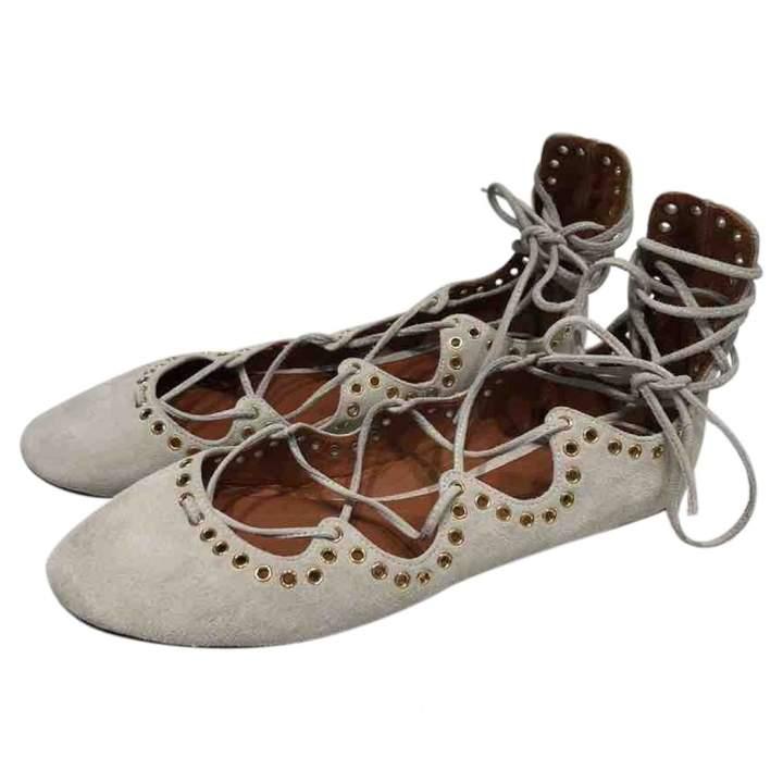 Isabel Marant Leather ballet flats