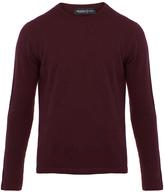 Pringle Plum Cashmere Sweater