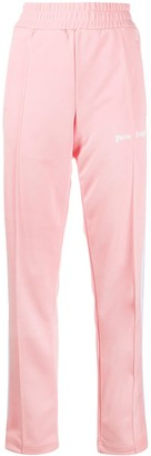 Palm Angels Classic Track Pants Pink White