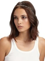Jennifer Behr Crystal Scalloped Headband