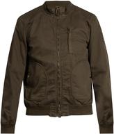 Belstaff Pendine cotton-blend drill bomber jacket