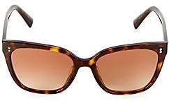 Valentino Women's 55MM Studded Square Sunglasses