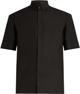 Haider Ackermann Byron short-sleeved cotton shirt