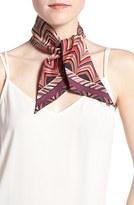Missoni Women's Print Silk Skinny Scarf