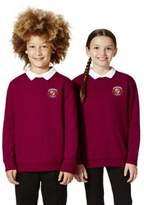F&F Unisex Embroidered School Sweatshirt with As New Technology