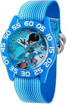 Disney Boys Blue Miles From Tomorrowland Time Teacher Strap Watch W003060