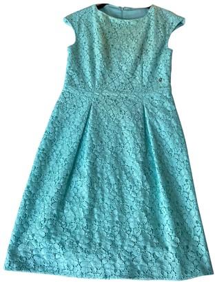 Galliano Blue Cotton - elasthane Dress for Women