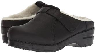 Sanita Whitney (Black) Women's Clog Shoes