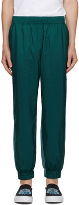 Kenzo Blue Technical Track Pants