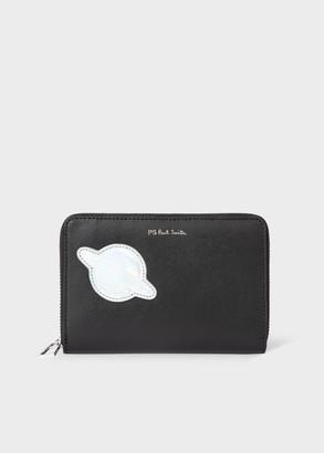 Paul Smith Women's Medium 'UFO' Patch Leather Zip-Around Wallet