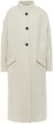 BA&SH Brushed Wool Coat