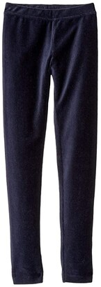 crewcuts by J.Crew Gabrielle Leggings Stretch Cord (Toddler/Little Kids/Big Kids) (Navy) Girl's Casual Pants