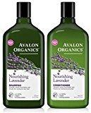 Avalon Lavender Nourishing Shampoo & Conditioner Duo, 11 oz