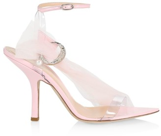 Midnight 00 Miss Embellished Tulle Sandals