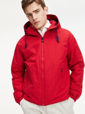 Tommy Hilfiger Contrast Lining Hooded Jacket