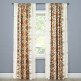 "Mudhut Anya Drape Curtain Panel Orange Multi (55""x84"