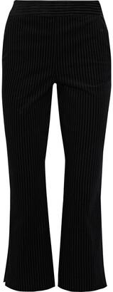 Frame Striped Cotton-blend Bootcut Pants