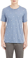 Barneys New York MEN'S SAILBOAT T-SHIRT-BLUE SIZE XL