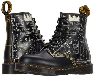 Dr. Martens 1460 Basquiat (Black/White Test Pressing Basquiat Backhand/Smooth) Shoes