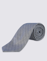 Limited Edition Textured Tie With Silk