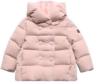Il Gufo Hooded Velvet Down Jacket