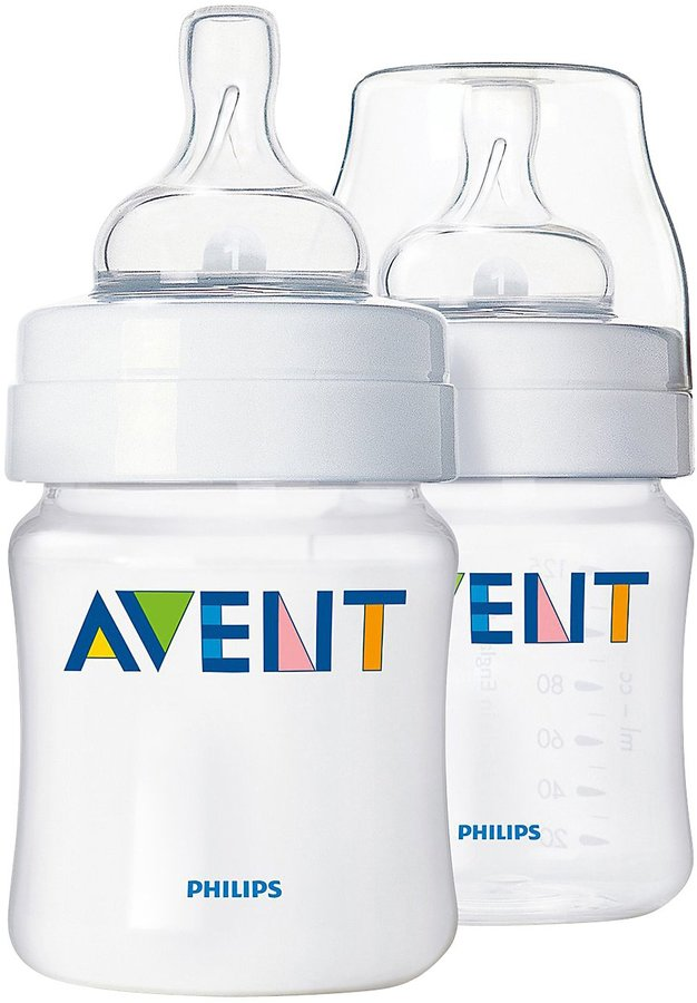 Avent Naturally Classic Bottle - 4 oz - 2 ct