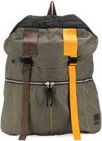 Marni contrast buckle backpack