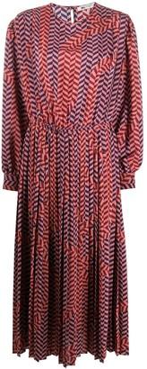 Ports 1961 Geometric Print Dress