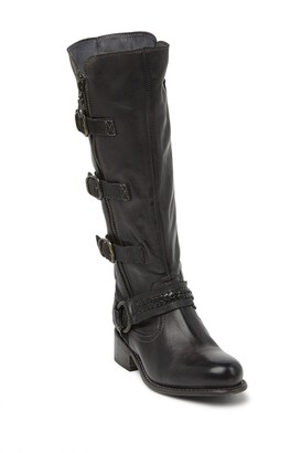 Bed Stu Skyla Buckle Leather Boot