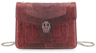 Bvlgari Small Snakeskin Serpenti Forever Shoulder Bag