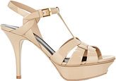 Saint Laurent Women's Tribute Platform Sandals