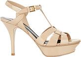 Saint Laurent Women's Tribute Platform Sandals