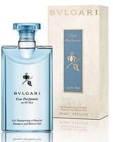 Bvlgari Eau Parfumee au the bleu Collection Shampoo Shower Gel 6.8 oz.
