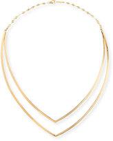 Lana 14K Yellow Gold V Choker Necklace