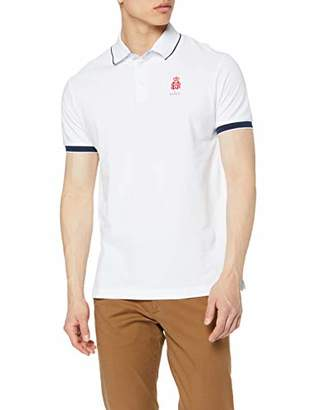 Hackett London Men's Hrr Clasc Polo Shirt,Small
