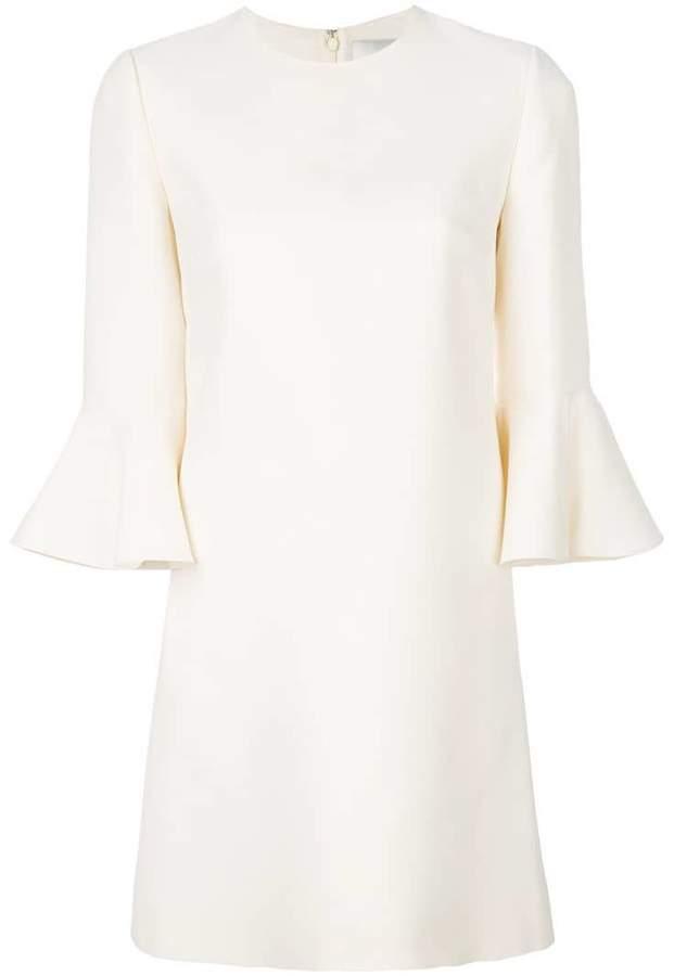 Valentino bell sleeve dress