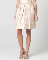 Le Château Metallic Jacquard Full Skirt