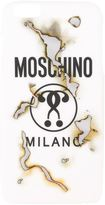 Moschino 'It's Lit' burned iPhone 6 Plus case - women - Polycarbonite - One Size