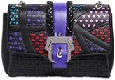 Paula Cademartori Carine Stars & Embossed Leather Bag