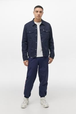 adidas Blue Football Joggers - Blue S at Urban Outfitters