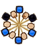 Trina Turk Starburst Polished Stone Brooch